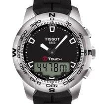 Tissot Zeljezo Kvarc Crn Bez brojeva 43mm nov T-Touch II