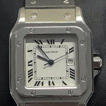 Cartier Santos Galbée Stahl 29mm Silber Römisch Deutschland, Hannover