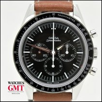 Omega Speedmaster Professional Moonwatch Сталь Чёрный Без цифр