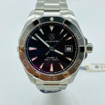 TAG Heuer Aquaracer 300M Steel 40.5mm Black United States of America, New York, NEW YORK