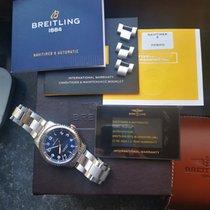 Breitling Navitimer 8 Steel Blue Arabic numerals