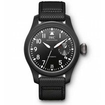 IWC Big Pilot Top Gun Ceramica 46mm Negru