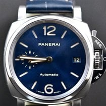 Panerai Luminor Due Titânio 38mm Azul