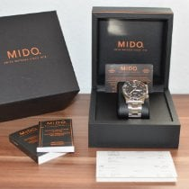 Mido Multifort gebraucht 42mm Schwarz Datum Wochentagsanzeige Stahl