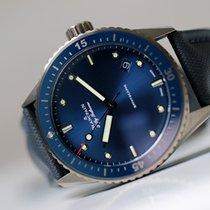 Blancpain Fifty Fathoms Bathyscaphe Céramique 43,60mm Bleu Sans chiffres