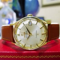 Omega Constellation 14k Solid Gold Pie Pan Automatic Watch
