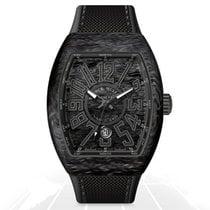 Franck Muller Carbon Automatic Black 44mm new Vanguard