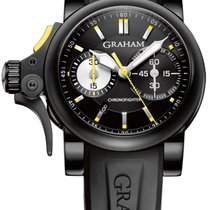Graham Chronofighter R.A.C. new 2011 Automatic Chronograph Watch with original box 2TRAB.B01A