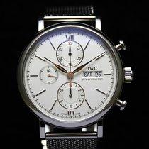 IWC Portofino Silver Automatic Chronograph IW 391005