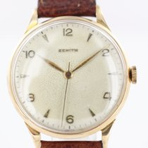 Zenith Or rouge Remontage manuel 35mm occasion