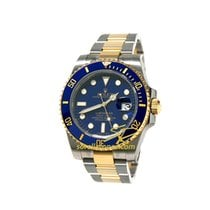Rolex Submariner Date Blu Dial Steel Case Oyster and Yellow Glod