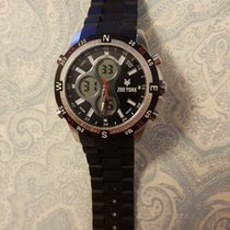 York Zoo York Zy1006 Black Dial Watch