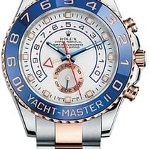 Rolex Yacht-Master II Gold/Steel 44mm White No numerals United States of America, New York, New York