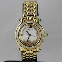 Chopard Happy Sport 4144 Very good Yellow gold 32mm Quartz