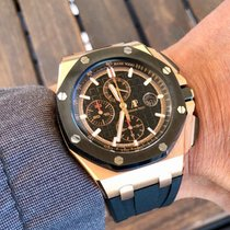 Audemars Piguet Chronograph 44mm Automatic 2017 pre-owned Royal Oak Offshore Chronograph Black