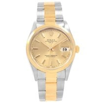 Rolex Oyster Perpetual Date Gold/Steel 34mm Champagne United States of America, Georgia, Atlanta