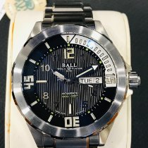 Ball Engineer Master II Diver Steel 42mm Black No numerals United States of America, Massachusetts, Boston