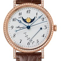 Breguet new Automatic Power Reserve Display 39mm Rose gold Sapphire crystal