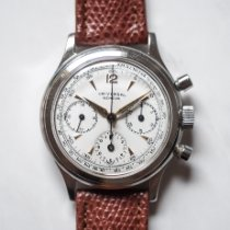 Universal Genève Steel 35mm Manual winding Compax pre-owned