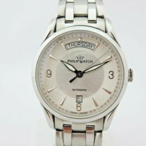 Philip Watch Sunray Steel 39mm Silver No numerals