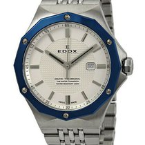 Edox new Quartz Screw-Down Crown 35mm Steel Sapphire Glass