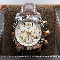 Breitling Chronomat 44 Gold/Stahl 44mm Weiß Deutschland, Worms