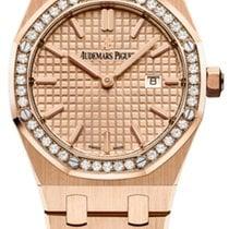 Audemars Piguet Royal Oak Lady new 2019 Quartz Watch with original box and original papers 67651OR.ZZ.1261OR.03