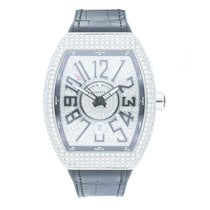 Franck Muller Vanguard White gold 44mm Arabic numerals United States of America, Pennsylvania, Bala Cynwyd