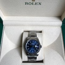 Rolex Datejust Acier 36mm Bleu Sans chiffres