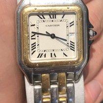 Cartier Santos Demoiselle Acero y oro 20mm Blanco Romanos