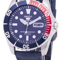 Seiko 5 Sports Acier 41mm Bleu