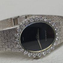 Juvenia White gold 27mm Manual winding JUVENIA WHITE GOLD AND DIAMONDS pre-owned