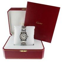 Cartier Ronde Solo de Cartier Stahl 29mm Silber