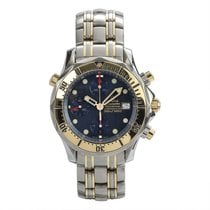Omega Seamaster Diver 300 M Goud/Staal 41mm Blauw
