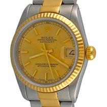 Rolex Lady-Datejust Acier 30mm Champagne Sans chiffres