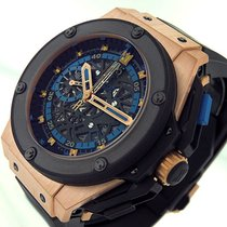 Hublot King Power Rose gold 48mm Black United States of America, California, Los Angeles