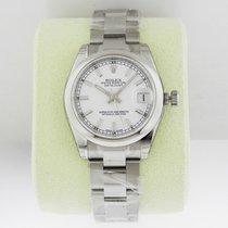 Rolex Datejust 31mm Steel White Index Dial