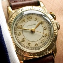 Longines Rare Weems Military Watch with Breguet Numbers Vintage