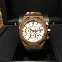 Audemars Piguet Royal Oak Chronograph 41mm Rose Gold B&P