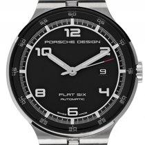 Porsche Design Flat Six Stahl Automatik Armband Stahl 44mm...