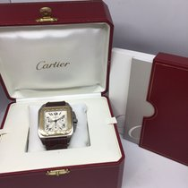 Cartier Santos 100 Chrono 2470 Steel and Gold 2005 FULL SET