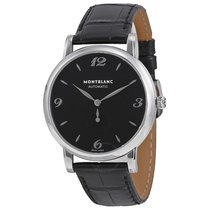 Montblanc 107072 Star Mens Automatic in Steel - on Black...