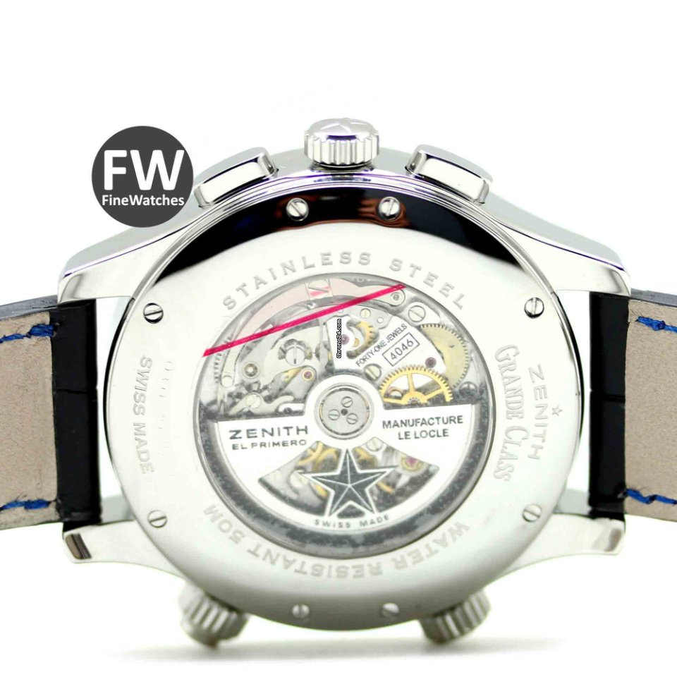 Zenith Grande Class Traveller Multicity Alarm Chronograph for ... f4bbe97d70248