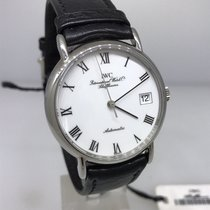 IWC Vintage Portofino Stainless Steel Automatic Leather Band...
