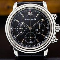 Blancpain 2185-1130-53 Leman Chronograph SS / Alligator (27602)