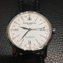 Baume & Mercier Classima Executive GMT stainless steel Full Set