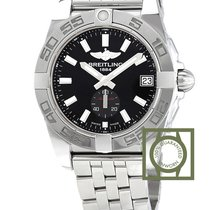 Breitling Galactic 36 Automatic Black Dial Full Steel A3733012...