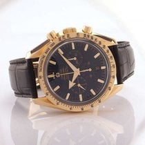 Omega Remontage automatique Noir 40mm occasion Speedmaster Broad Arrow