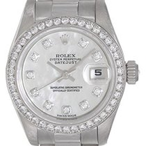 Rolex Automatic Mother of pearl No numerals 26mm pre-owned Lady-Datejust
