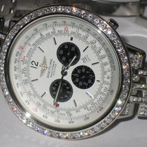 Breitling Navitimer Heritage pre-owned 44mm Silver Chronograph Date Steel